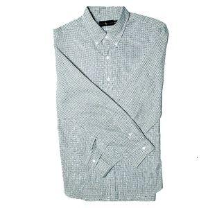 Long sleeve, button-down Ralph Lauren polo shirt
